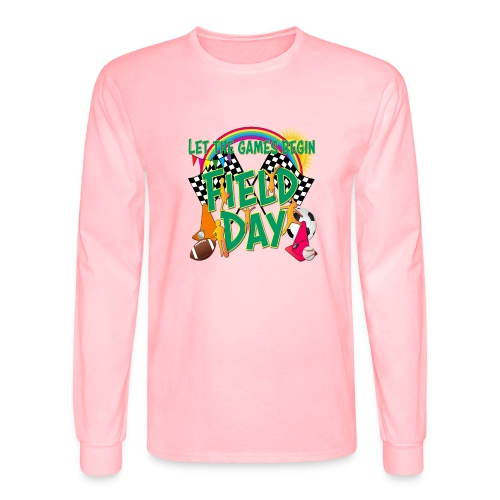Field Day Games for SCHOOL - Men's Long Sleeve T-Shirt
