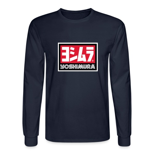 Yoshimura Logo Design - Men's Long Sleeve T-Shirt