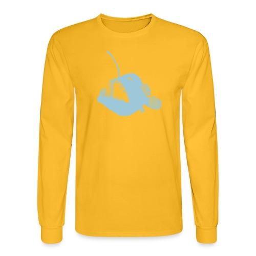 anglerfish frogfish sea devil deep sea angler - Men's Long Sleeve T-Shirt