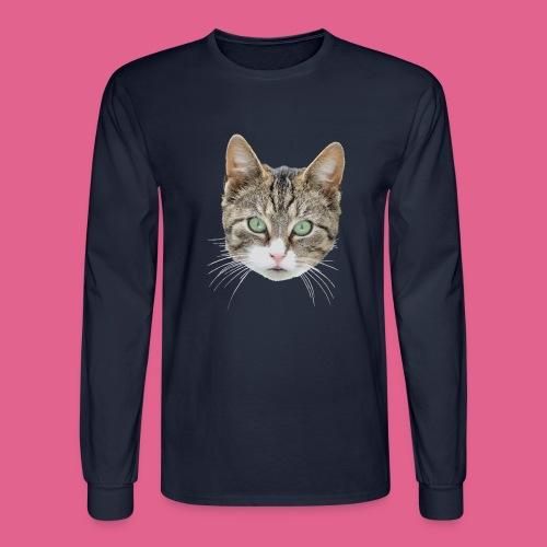 cathead color Edited - Men's Long Sleeve T-Shirt