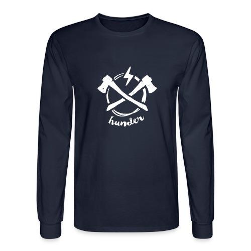 woodchipper back - Men's Long Sleeve T-Shirt