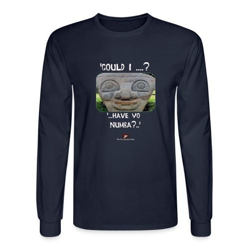 Alien Could I have your Number - Men's Long Sleeve T-Shirt