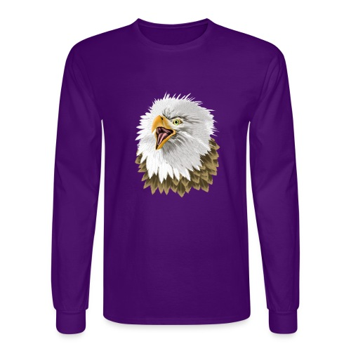 Big, Bold Eagle - Men's Long Sleeve T-Shirt