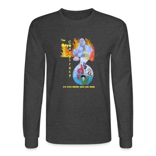 Mayo-Conspiracy - Men's Long Sleeve T-Shirt