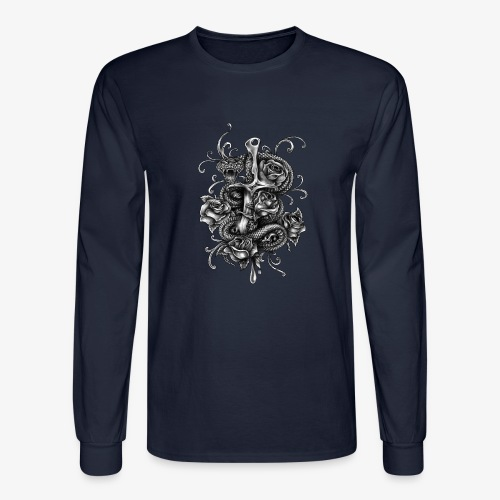 Dagger And Snake - Men's Long Sleeve T-Shirt