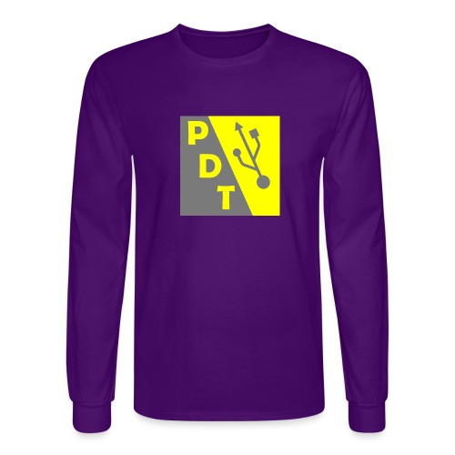 PDT Logo - Men's Long Sleeve T-Shirt