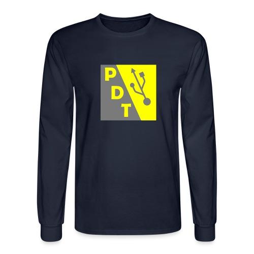 PDT Logo - Men's Long Sleeve T-Shirt