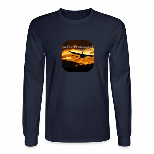 "InovativObsesion ""TAKE FLIGHT"" apparel - Men's Long Sleeve T-Shirt"