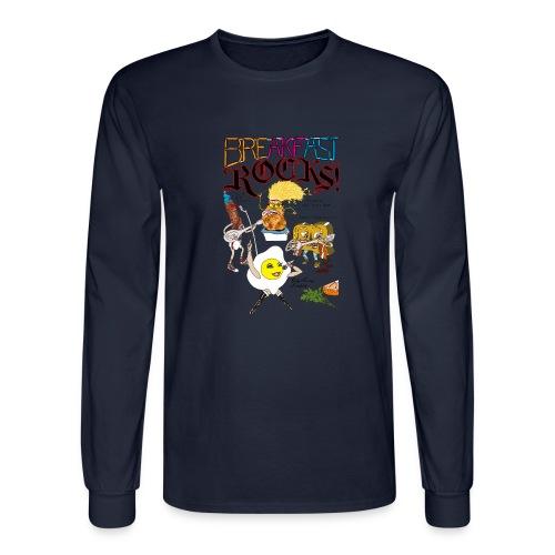 Breakfast Rocks! - Men's Long Sleeve T-Shirt