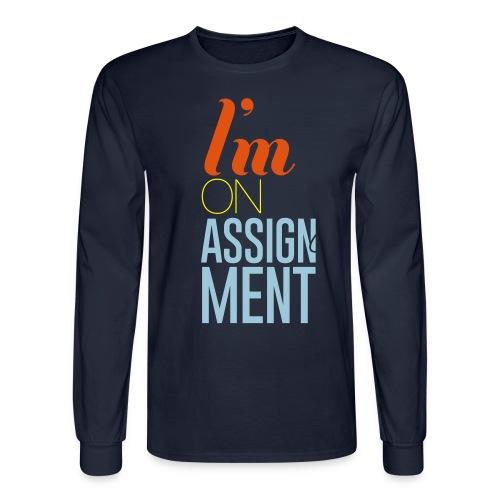 IOMA - Men Black - Men's Long Sleeve T-Shirt