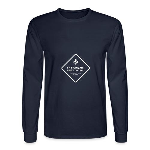 Loi 101 - Men's Long Sleeve T-Shirt