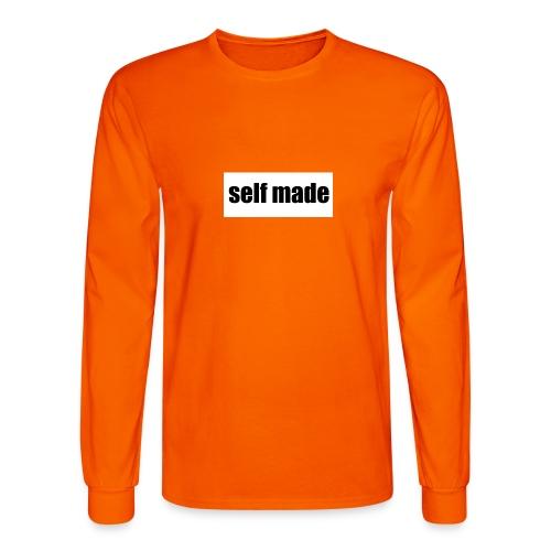 self made tee - Men's Long Sleeve T-Shirt