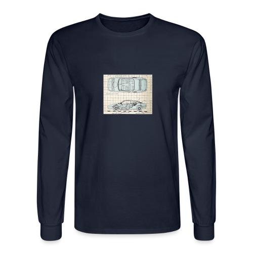 drawings - Men's Long Sleeve T-Shirt