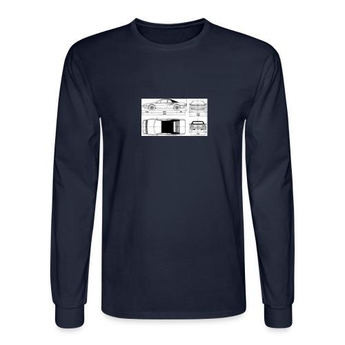 artists rendering - Men's Long Sleeve T-Shirt