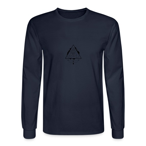 black rose - Men's Long Sleeve T-Shirt