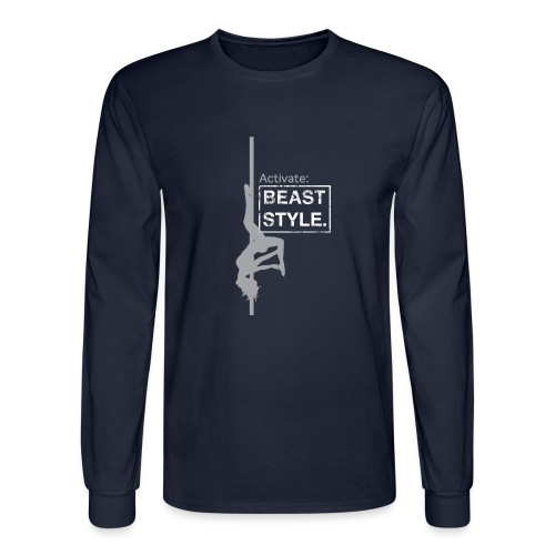 Activate: Beast Style - Men's Long Sleeve T-Shirt
