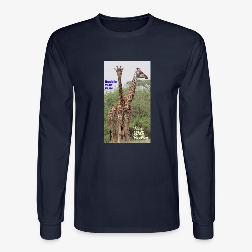 Two Headed Giraffe - Men's Long Sleeve T-Shirt
