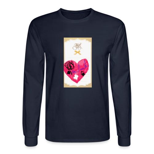 Heart of Economy 1 - Men's Long Sleeve T-Shirt