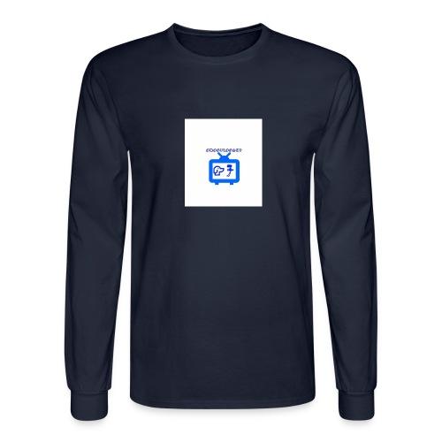 OdogVlogsTv Offical Logo - Men's Long Sleeve T-Shirt