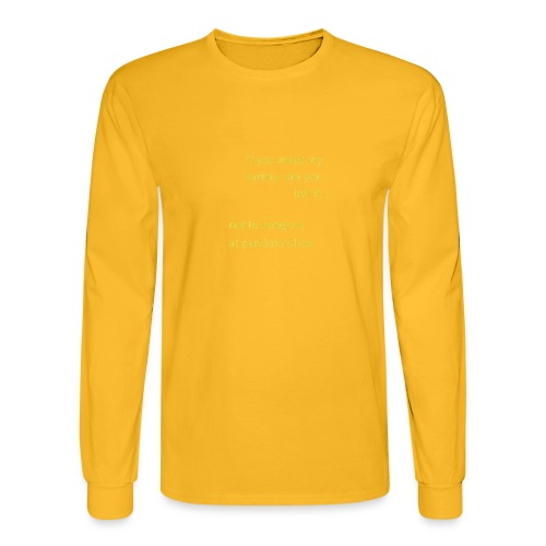 meet karma - Men's Long Sleeve T-Shirt