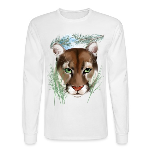 Midnight Puma - Men's Long Sleeve T-Shirt