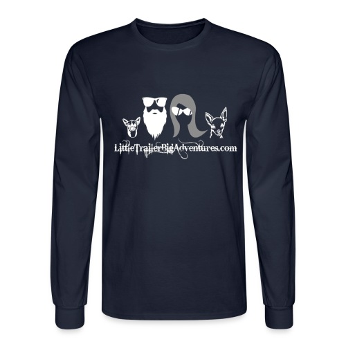LTBA Head Shots - Men's Long Sleeve T-Shirt