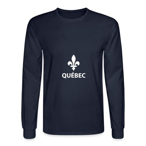 Québec - T-shirt manches longues pour hommes