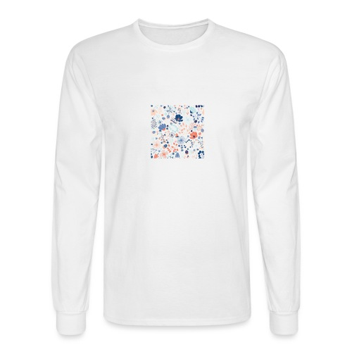 flowers - Men's Long Sleeve T-Shirt