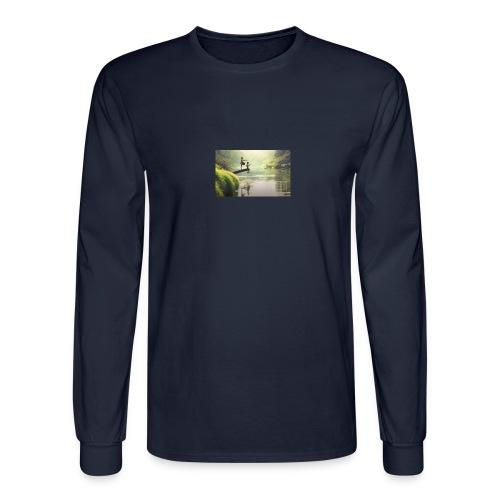 fishing - Men's Long Sleeve T-Shirt