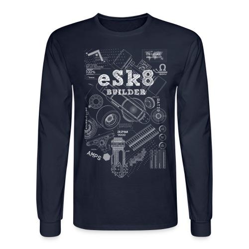 ESK8-BUILDER-LONG-T-SHIRT - Men's Long Sleeve T-Shirt