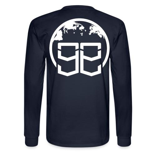 Global Goons White original - Men's Long Sleeve T-Shirt