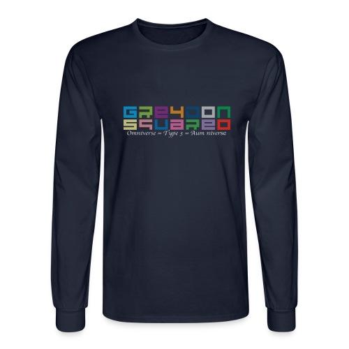 Greydon Square Colorful Tshirt Type 3 - Men's Long Sleeve T-Shirt