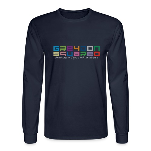 Greydon Square Colorful Tshirt Type 3 - Men's Long Sleeve T-Shirt