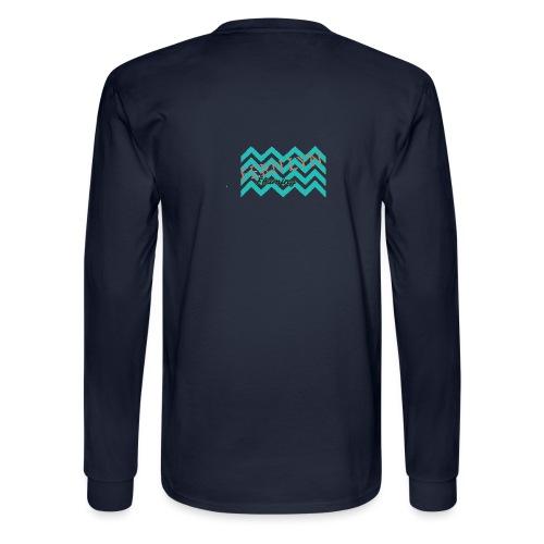 Fern Lyn Flaming official logo - Men's Long Sleeve T-Shirt