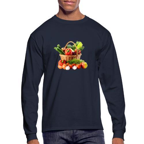 Vegetable transparent - Men's Long Sleeve T-Shirt