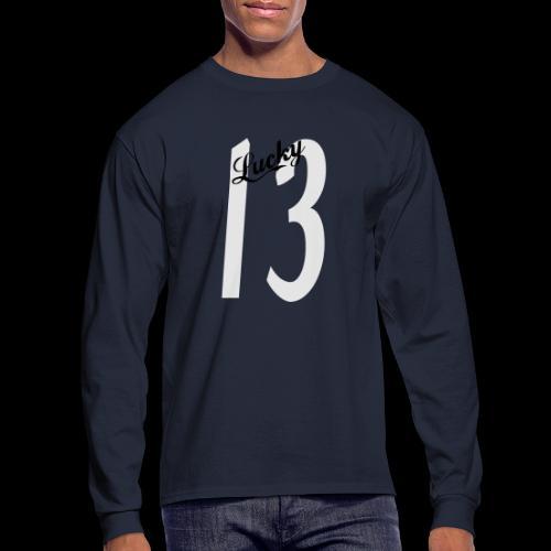 Lucky Thirteen - Men's Long Sleeve T-Shirt