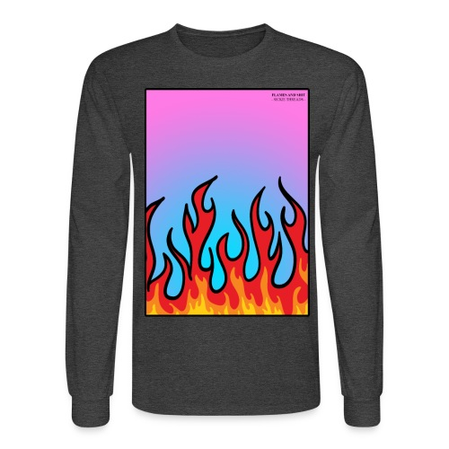 FLAMES 'N' STUFF - Men's Long Sleeve T-Shirt