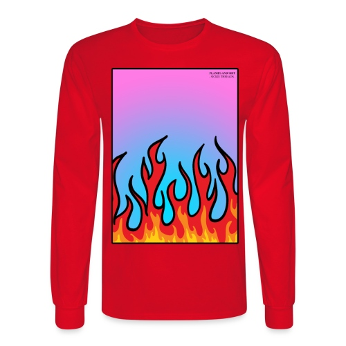 FLAMES 'N' STUFF - Men's Long Sleeve T-Shirt