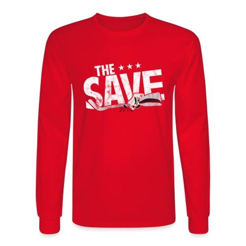 The Save - Men's Long Sleeve T-Shirt