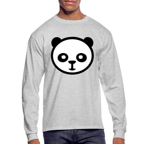 Panda bear, Big panda, Giant panda, Bamboo bear - Men's Long Sleeve T-Shirt