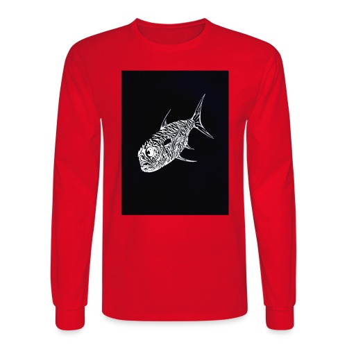 jack negative - Men's Long Sleeve T-Shirt