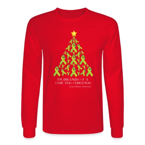 Lyme Free Christmas - Men's Long Sleeve T-Shirt