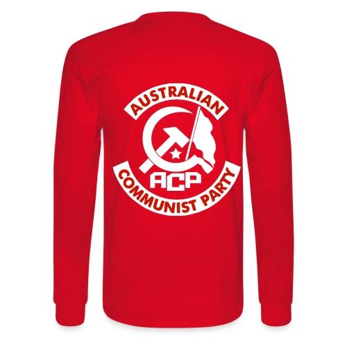 ACP White Patch Design - Men's Long Sleeve T-Shirt