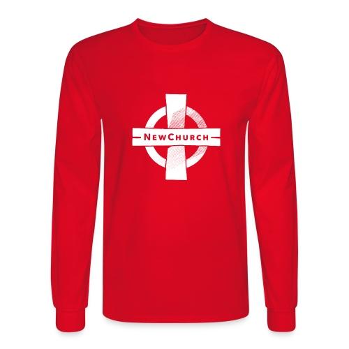 NewChurch Logo I LOVE MY CHURCH - Men's Long Sleeve T-Shirt