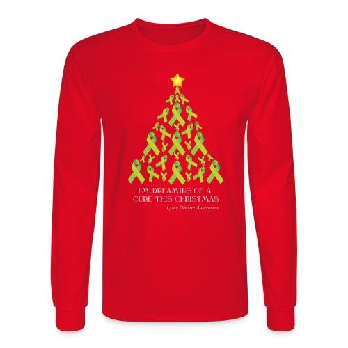 Lyme Free Christmas - Men's Long Sleeve T-Shirt