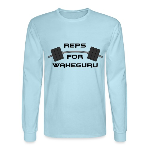 REPS FOR WAHEGURU - Men's Long Sleeve T-Shirt