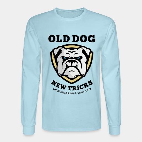 old dog new tricks - Men's Long Sleeve T-Shirt