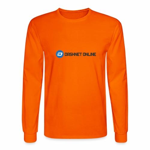 dashnet online dark - Men's Long Sleeve T-Shirt