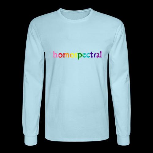homospectral - Men's Long Sleeve T-Shirt