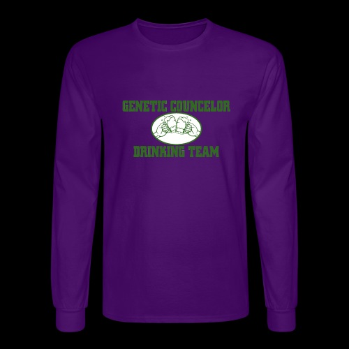 genetic counselor drinking team - Men's Long Sleeve T-Shirt